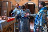 Архієрейське богослужіння у суботу Акафістну!