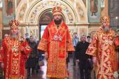 Напередодні Дня Ангела митрополит Никодим очолив святкову Всенічну у кафедральному соборі Житомира!