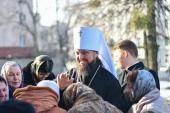 Митрополит Житомирський і Новоград-Волинський Никодим молитовно зустрів День свого народження!