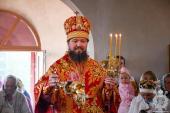 Вечірня Пасхальним чинов у храмі Воскресіння Словущого в Озерному!