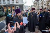 В Офісі Президента зареєстрували Звернення від мільйонів віруючих УПЦ щодо законопроектів, які порушують їхні права (+відео)
