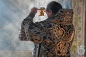 Митрополит Никодим звершив літургію Передосвячених дарів в Свято-Успенському архієрейському соборі міста Житомира.