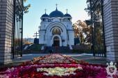 В день пам'яті преподобного Сергія Радонежського митрополит Никодим очолив Престольне святкування в Новогуйвинську.