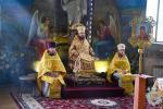 У суботу дев'ятої седмиці після П'ятидесятниці митрополит Никодим звершив Божественну літургію у Свято-Успенському архієрейському соборі міста Житомира.