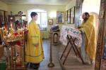 Божественна Літургія в день пам'яті блаженної Ксенії Петербурзької у Свято-Петропавлівському храмі с. Реї
