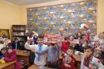 Як вихованці Недільної школи при Свято-Миколаївському соборі м. Бердичева всіх із Різдвом Христовим вітали