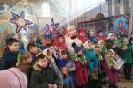 Різдвяний виступ дітей у селищі Бистри!