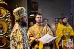 Архієрейське богослужіння у Свято-Покровському храмі Житомира.