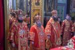 Митрополит Никодим взяв участь у Божественній літургії в Свято-Успенському каф