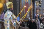 В неділю про митаря і фарисея митрополит Никодим звершив Божественну літургію в Спасо-Преображенському кафедральному соборі міста Житомира.