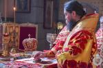 Літургія у кафедральному соборі в Неділю п'яту після Пасхи.