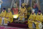 У день святкування собору вселенських учителів і святителів  митрополит Никодим звершив Божественну літургію у Свято-Успенському архієрейському соборі міста Житомира.