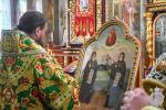 В день пам'яті преподобного Іова Почаївського митрополит Никодим звершив Божественну літургію у Свято-Успенському архієрейському соборі міста Житомира.