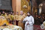 У неділю двадцять першу після П'ятидесятниці митрополит Никодим звершив Божественну літургію у Спасо-Преображенському кафедральному соборі.